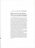 LA PREALPINA - Boschi nel VCO da tutelare, tre nuovi istrutori forestali.